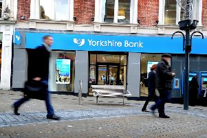 Picture James Hardisty.'Yorkshire Bank, Leeds City Branch, Briggate, Leeds.
