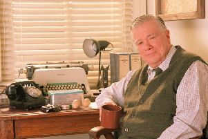 William Simons played PC Alf Ventress in ITV's Heartbeat.
