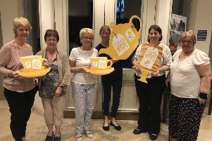 The Batley, Birstall and Spen Valley Marie Curie fundraising group is holding a tea party this Saturday (June 29) in Heckmondwike Parish Church at 10am.