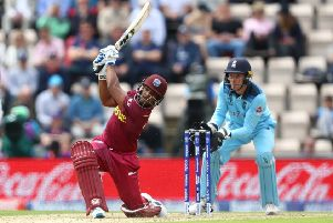 NEW FACE: West Indies Nicholas Pooran has signed up for the first five games of Yorkshire's T20 Blast campaign. Picture: Michael Steele/Getty Images