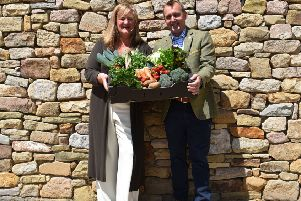 The Yorkshire Agricultural Society (YAS) has been appointed as managing agent of the Farm Retail Association (FRA). Pictured: Heather Parry, deputy chief executive of the YAS, and Robert Copley, chairman of the FRA.