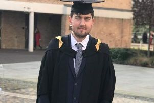 Miles Florentine when he graduated