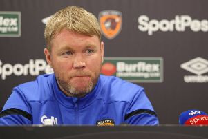 Grant McCann his unveiled as the new Hull City manager (Picture: Hull City FC)