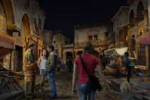 A concept visual of a Roman tourist attraction planned in York. Pic: York Archaeological Society.