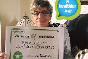 Anne Wilson quit after 55 years of smoking