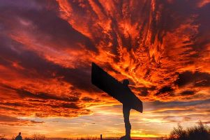 The Angel of the North has become the symbol of the Power Up The North campaign.