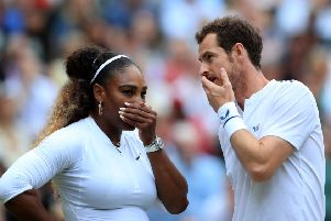 TV schedules were altwered when the BBC switched coverage of Andy Murray and Serena Wiliams in the mixed doubles at Wimbledon to BBC1.