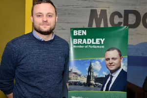 Mansfield's MP Ben Bradley is looking for town's pawfect pets