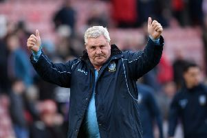 HEADING HOME: Steve Bruce is expected to become Newcastle United manager before the weekend. Picture: Steve Ellis