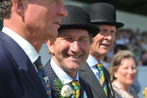Show director Charles Mills at the 161st Great Yorkshire Show in Harrogate. Picture by Tony Johnson.