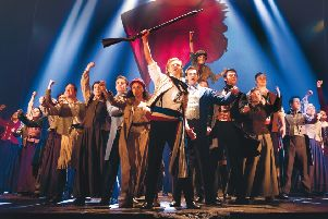 A scenes from Les Miserables now at Bradford Alhambra. Picture: Helen Maybanks