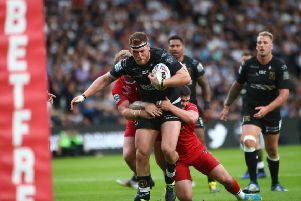 Scott Taylor was impressed with Hull FC's first-half display against London. Picture: Hull FC
