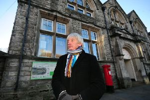 County Coun John Blackie pictured at Hawes.