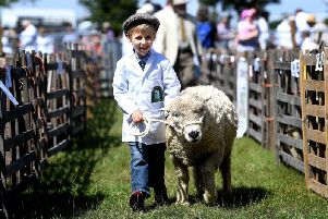 The event is one of the largest agricultural shows in the country