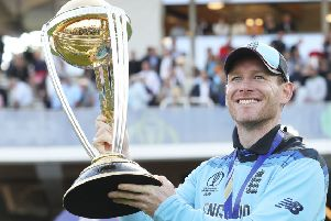 England's captain Eoin Morgan.