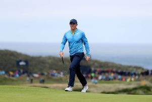 Northern Ireland's Rory McIlroy during preview day four of The Open Championship 2019 at Royal Portrush Golf Club. (Picture: PA)