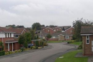 Kingsmead in Ossett, where a new access road to the estate would have been built