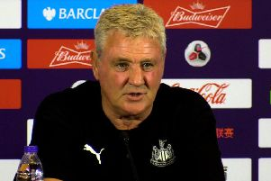 Newcastle United manager Steve Bruce.