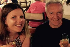 Long Eaton resident Lucy Hobson is backing Pancreatic Cancer UK's new campaign to develop a simple test for the disease which killed her dad, Stuart.