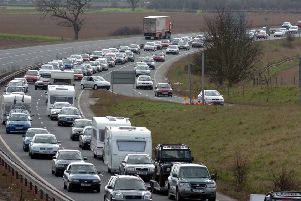 Tailbacks on the A64 east of York remain a repeated soruce of frustration.