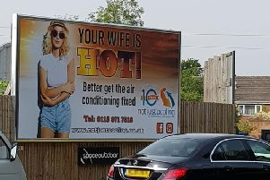 The 'offending' advert