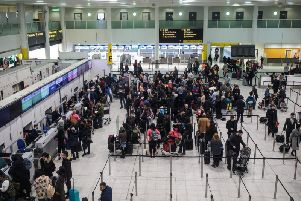 A number of industrial strikes across the UKs main airports aswell as strikes by staff at British Airways, easyJet and Ryanair are anticipated to start this week. (Getty Images)