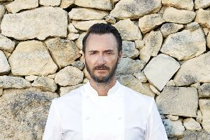 """Undated BBC Handout Photo from The Chef�""""s Brigade. Pictured: Jason Atherton. See PA Feature SHOWBIZ TV Atherton. Picture credit should read: PA Photo/BBC/Expectation Entertainment Limited/James Wicks. WARNING: This picture must only be used to accompany PA Feature SHOWBIZ TV Atherton. WARNING: Use of this copyright image is subject to the terms of use of BBC Pictures' BBC Digital Picture Service. In particular, this image may only be published in print for editorial use during the publicity period (the weeks immediately leading up to and including the transmission week of the relevant programme or event and three review weeks following) for the purpose of publicising the programme, person or service pictured and provided the BBC and the copyright holder in the caption are credited. Any use of this image on the internet and other online communication services will require a separate prior agreement with BBC Pictures. For any other purpose whatsoever, including advertising and commercial prior written approv"""
