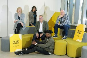 Creative leaders including Sally Joynson, Andrew Shelton and Roger Marsh. Picture by Tony Johnson.