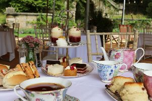 Afternoon tea at The Maze, Chatsworth.