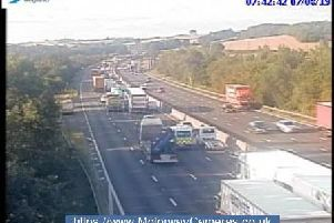 Junction 29 of the M1