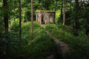 Fisher's Hall, one of the follies in Hackfall Wood