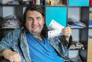 George Handley has bought a spare ticket for a musical in the hope he can find someone to join him for a birthday date