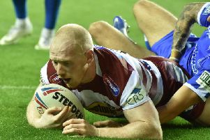 Liam Farrell scored two tries