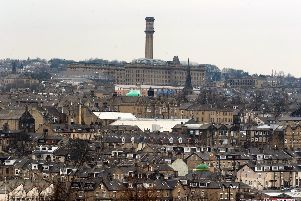 The skyline of Bradford. Picture by Tony Johnson.