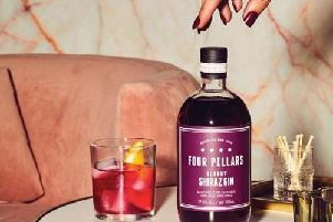 You could be a fan of both gin and red wine - but have you ever thought about combining them? (Photo: Four Pillars gin)
