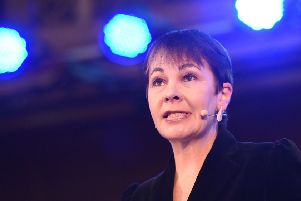 Green Party MP Caroline Lucas.