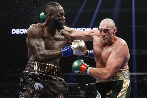 Deontay Wilder and Tyson Fury are expected to fight again early next year.