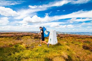 Ben Davis ran round the whole of Yorkshire for men's mental health charity CALM