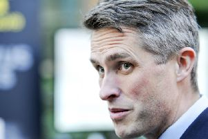 Education Secretary Gavin Williamson. 'Picture by Scott Merrylees.