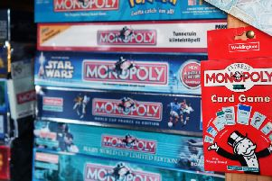 Monopoly is one of the most popular board games in the world.  Picture: Jonathan Gawthorpe