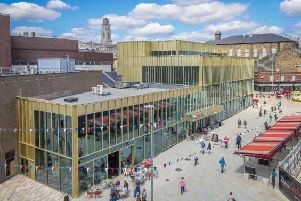 Henry Boot recently completed the 44m first phase of The Glass Works in Barnsley