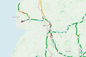 A number of incidents on the Lancashire network are causing travel disruption for bank holiday motorists.