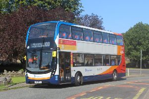 One of the new Stagecoach double decker buses