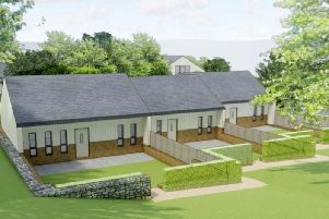 Artist impression of the supported living scheme in Batley