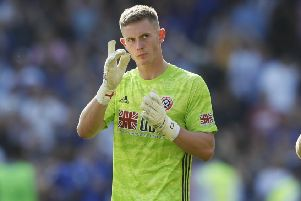 Dean Henderson of Sheffield United (Picture: Simon Bellis/Sportimage)