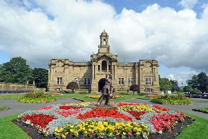 Cartwright Hall in Lister Park, Bradford.'Technical details, shot on a Nikon D3s camera, 28-70mm lens with an exposure of 1/1000th @f8, 250ISO. Picture Tony Johnson.