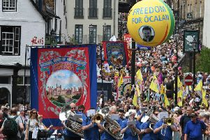 Durham Miners' Gala. Picture: Kevin Brady.