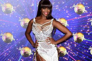 New Strictly judge Oti Mabuse at the red carpet launch of the popular TV show.  Photo: Ian West/PA Images.
