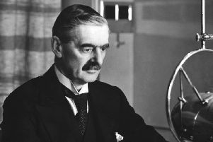 Neville Chamberlain announced 80 years ago that Britain was at war with Germany.