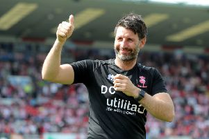Lincoln City manager Danny Cowley.